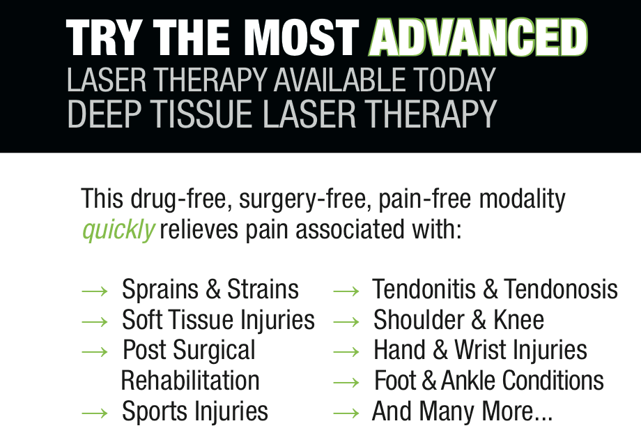 Laser Therapy the most advanced treatment